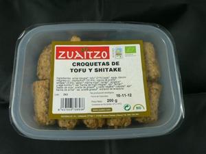 Zuaitzo: croquetas de tofu y shitake 200gr.