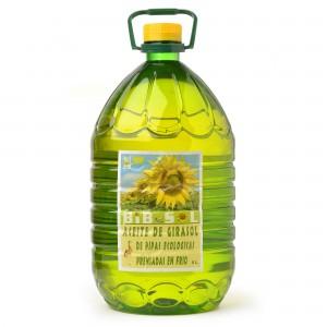 Ecopipa: Aceite de girasol PET de 5 litros