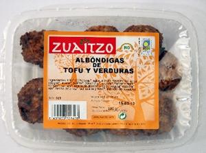 Zuaitzo: Albóndigas de tofu 200 gr