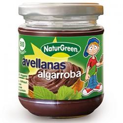 Naturgreen: crema de avellanas y algarroba 200 g