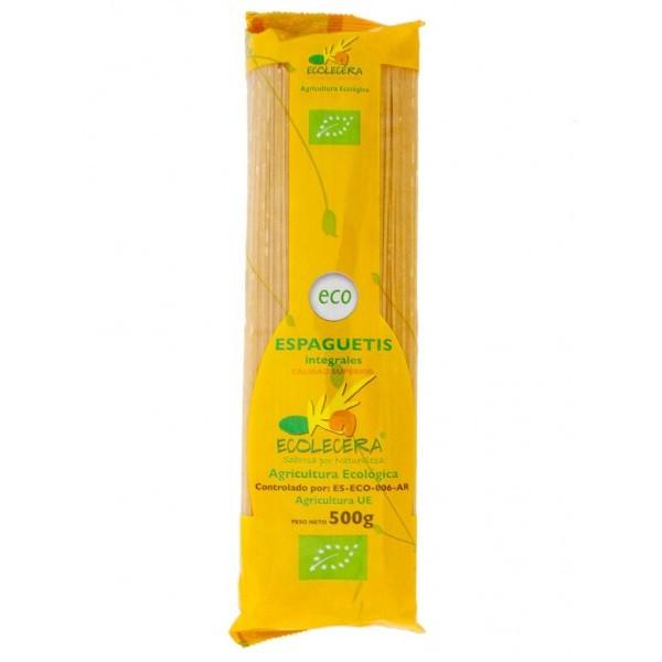 Ecolécera: spaguettis integrales, paquete de 500 g