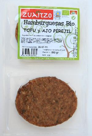 Zuaitzo: Hamburguesas ajo-perejil 150 gr