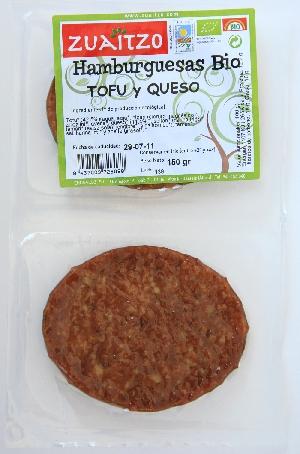 Zuaitzo: Hamburguesas queso VEGANA 150 g