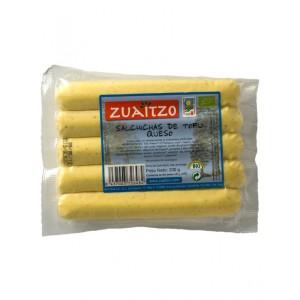 salchicas tofu queso