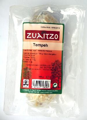 Zuaitzo: Tempeh natural 200 gr