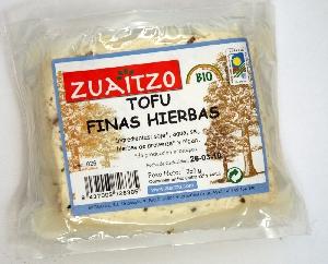 Zuaitzo: Tofu finas hierbas 250 g
