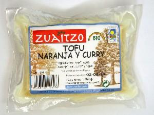 tofu naranja curri