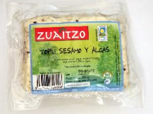 tofu sesamo algas
