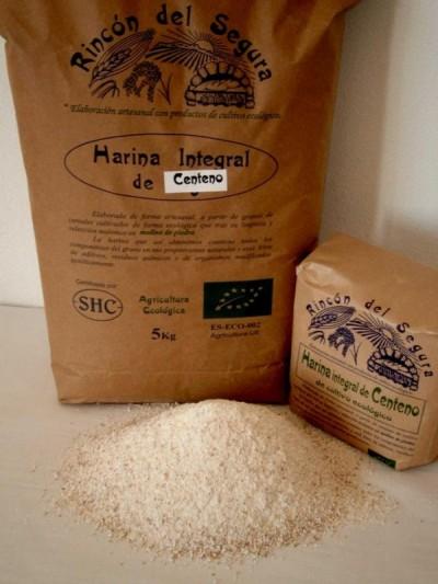 Rincón del Segura: Harina integral de centeno 0,9 kg