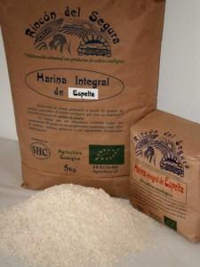 harina integral espelta