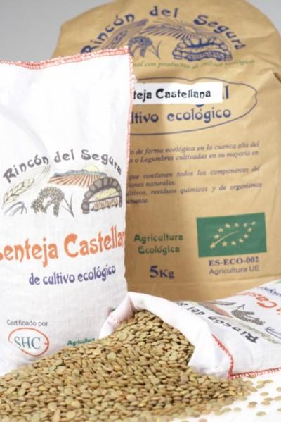Rincón del Segura: lenteja castellana 1 kg