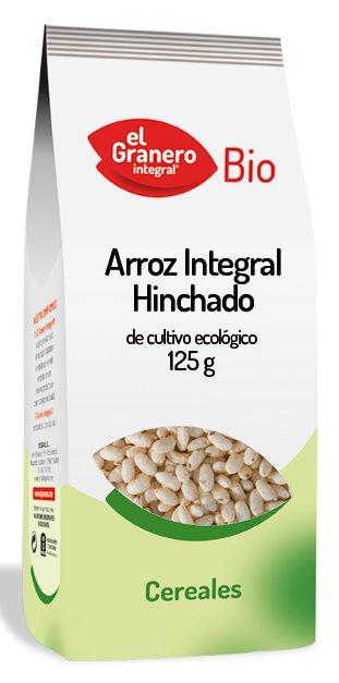El granero integral: Arroz integral hinchado 125 gr