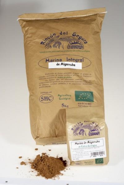 Rincón del Segura: harina de algarroba 0,5 kg
