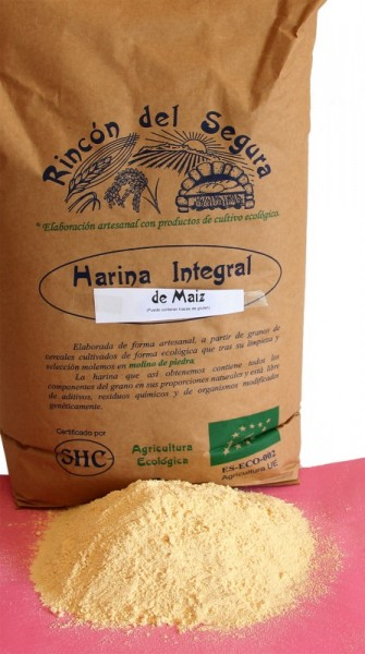 Rincón del Segura: harina integral de maíz 1 kg