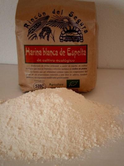 Rincón del segura: harina blanca de espelta 5 kg