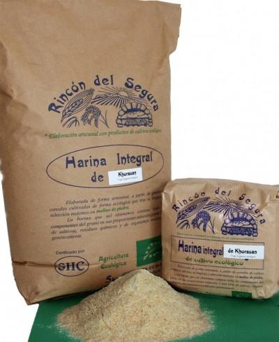 Rincón del segura: harina integral de khorasan (trigo egipcio) 1 kg