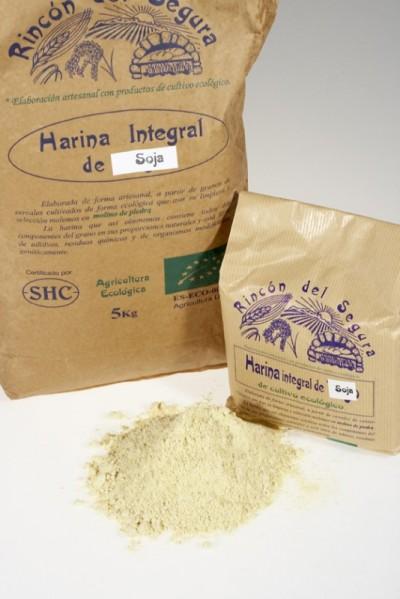 Rincón del segura: harina integral de soja 1 kg