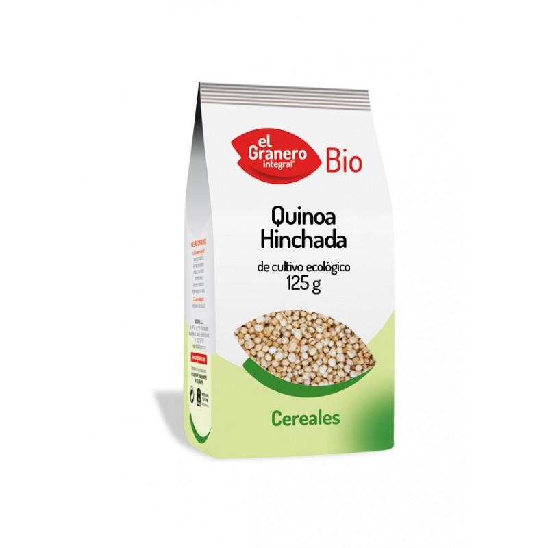 El granero integral: Quinoa hinchada 125 g