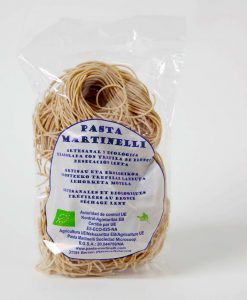 Martinelli: Nido di Spaghetti de sémola de trigo duro integral 450 g