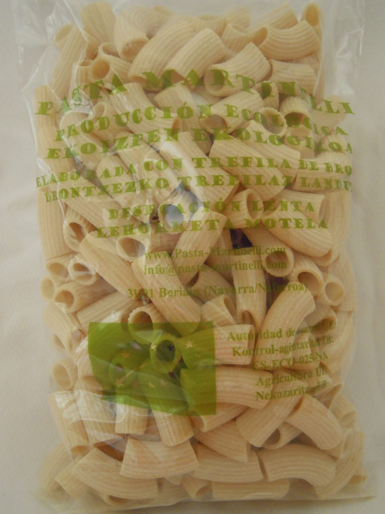 Martinelli: Maccheroni sémola de trigo duro 500 g