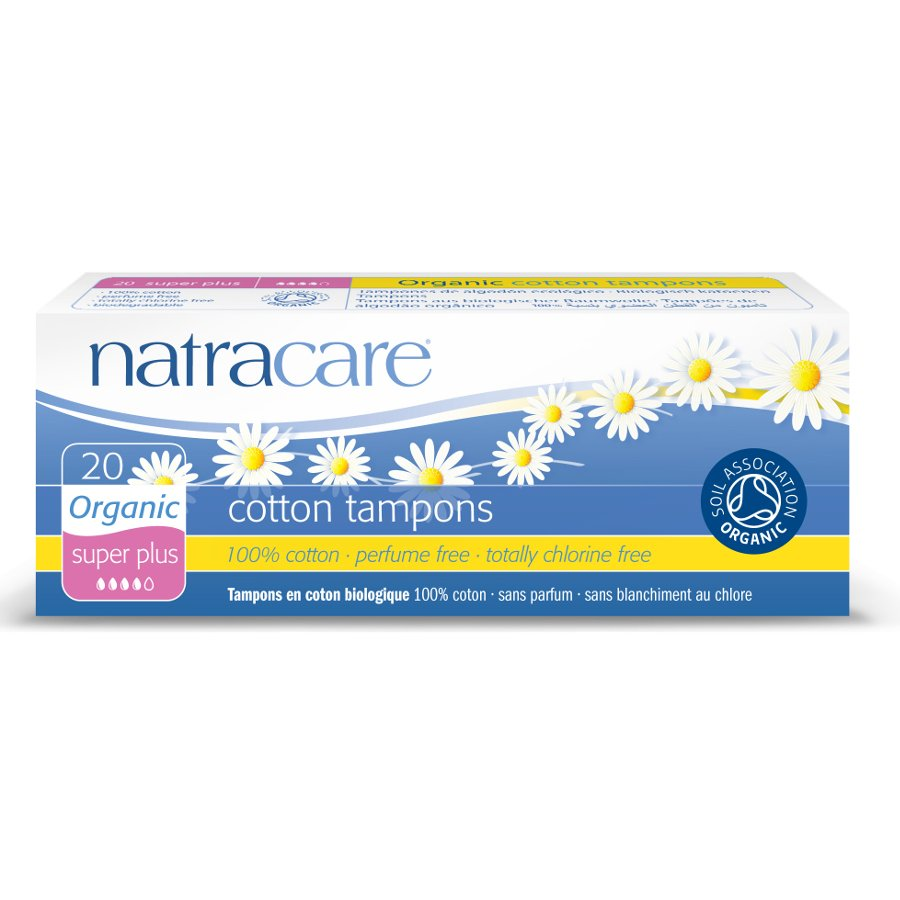 Natracare: Tampón superplus 20 unidades
