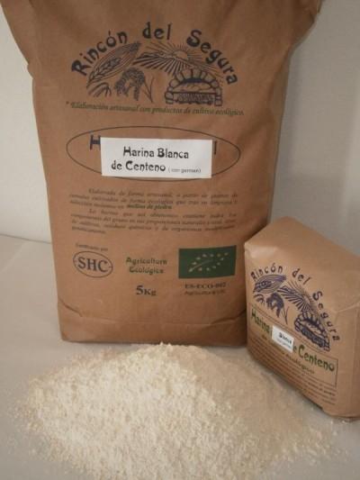 Rincón del Segura: Harina blanca de centeno 1 kg