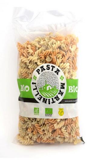 Martinelli: Fusilli Tricolor con Tomate y Kale 500 g