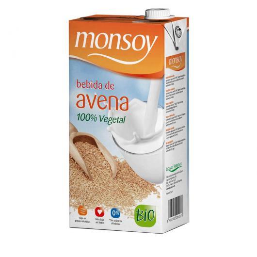 Monsoy: Bebida de AVENA Caja 4 ud
