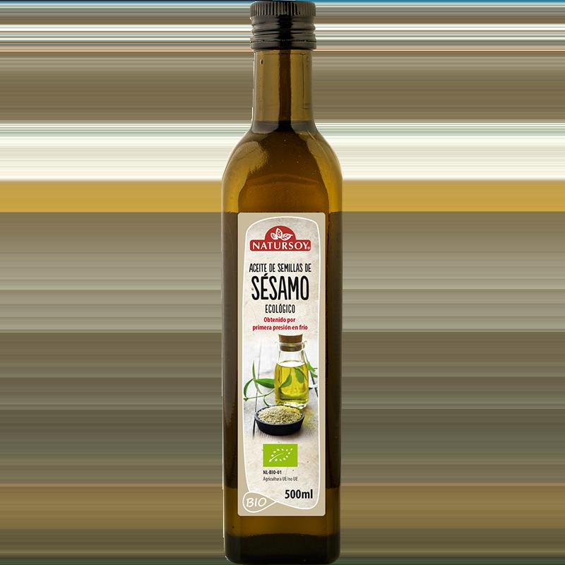Natursoy: aceite de sésamo 1l